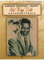 "Various Composers - Nat ""King"" Cole - Unforgettable - Music Book"