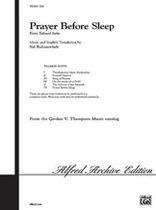 Sid Robinovitch - Prayer Before Sleep - Music Book