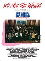 USA for Africa - We Are the World (USA for Africa) - Music Book