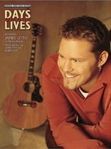 James Otto - Days of Our Lives Music Book