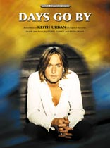 Keith Urban - Days Go By Music Book