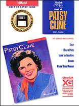 The Best of Patsy Cline - Easy Piano - Book/Software Kit
