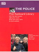 The Police - Police, the MIDI Keyboard Library General MIDI Software Book & Disk Package - Book/Software Kit