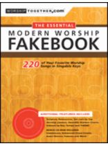 The Essential Modern Worship Fakebook - Book/Software Kit