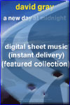 David Gray - A New Day at Midnight - Sheet Music (Digital Download)