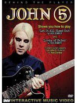 John 5 - Behind the Player: John 5 - Guitar Edition, Volume 2 - DVD