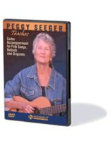 Peggy Seeger - Peggy Seeger Teaches Guitar Accompaniment for Folk Songs, Ballads and Originals - DVD