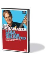 Joe Bonamassa - Joe Bonamassa - Lead Guitar Unlimited - A Complete Guide to Lead Styles - DVD