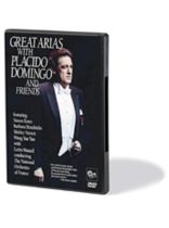 Placido Domingo - Great Arias with Placido Domingo and Friends - DVD