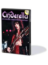 Cinderella - Cinderella - In Concert: Remastered Edition - DVD