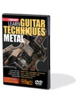 Kirk Hammett - Learn Guitar Techniques: Metal - Kirk Hammett Style - DVD