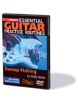 Andy James - Sweep Picking - Essential Guitar Practice Routines - DVD