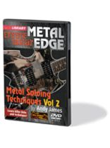 Andy James - Metal Soloing Techniques, Volume 2 - Metal Edge: Extreme Guitar Series - DVD