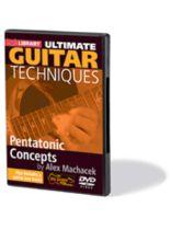 Alex Machacek - Pentatonic Concepts - DVD - Ultimate Guitar Techniques Series - DVD