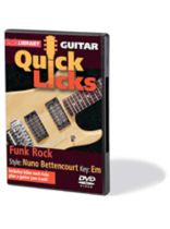 Nuno Bettencourt - Funk Rock - Quick Licks - Style: Nuno Bettencourt; Key: Em - DVD