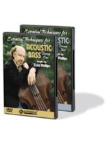Todd Phillips - Essential Techniques for Acoustic Bass - Two-DVD Set - DVD
