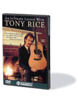 Tony Rice - An Intimate Lesson With Tony Rice - DVD