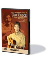 Jim Croce - Learn To Play the Songs of Jim Croce - Guitar Accompaniments and Techniques - DVD
