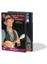Del Rey - Learn To Play Blues Mandolin - 2-DVD Set - DVD