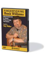 Hank Williams - Fingerpicking Hank Williams - Guitar Arrangements for Western Swing and Honky Tonk Classics - DVD