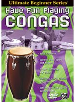 Brad Dutz - Ultimate Beginner Series: Have Fun Playing Hand Drums -- Congas - DVD
