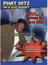 Kashif - Phat Hitz on a Slim Budget, Vol. I: Producing the Phat Hitz - DVD