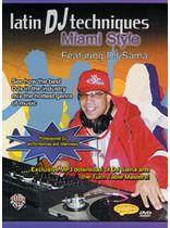 DJ Sama - Latin DJ Techniques: Miami Style - DVD