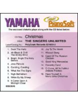 The Singers Unlimited - The Singers Unlimited - Christmas - Smart Pianosoft - Software