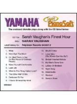 Sarah Vaughan - Sarah Vaughan's Finest Hour - Smart Pianosoft - Software