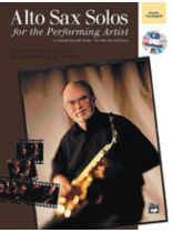 Michael Garson - Alto Sax Solos for the Performing Artist - Book/CD set