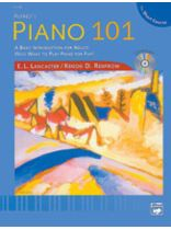 Alfred's Piano 101: The Short Course Lesson Book 1 - Book/CD set