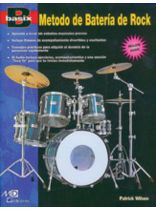 Patrick Wilson - Basix?: Rock Drum Method (Metodo de Baterfa de Rock) (Spanish Edition) - Book/CD set
