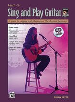 Susan Mazer - Learn to Sing and Play Guitar - Book/CD set