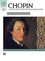Frederic Francois Chopin - 19 of His Most Popular Piano Selections - Masterwork CD edition - Book/CD set