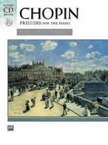 Frederic Francois Chopin - Preludes - Masterwork CD edition Book/CD set