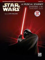 John Williams - Star Wars Instrumental Solos for Strings - Cello - Movies I-VI - Book/CD set