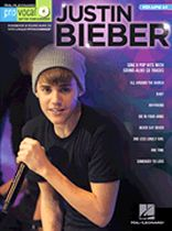 Justin Bieber - Justin Bieber - Pro Vocal Men's Edition Volume 64 - Book/CD set