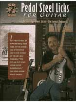 Forest Rodgers - Pedal Steel Licks for Guitar - Book/CD set