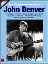 John Denver - Learn Folk Guitar With the Music of John Denver - Book/CD set
