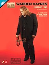 Warren Haynes - Warren Haynes Legendary Licks - Book/CD set