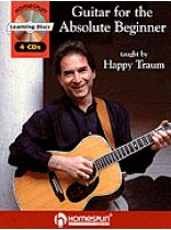 Happy Traum - Guitar for the Absolute Beginner - Book/CD set