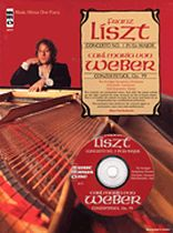 Stuttgart Symphony Orchestra - Liszt - Piano Concerto No 1 In E Flat Major -- Weber Konzertsstuck, Op. 79 - Music Minus One - Book/CD set