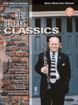 New Orleans Classics For Clarinet - Music Minus One - Book & 2 CD set - Book/CD set