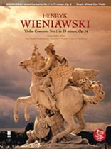 Henryk Wieniawski - Wieniawski Concerto No. 1 In F-Sharp Minor, Op. 14 - Music Minus One - 2-CD Set - Book/CD set