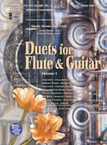 Flute & Guitar Duets, Vol. I - Music Minus One - 2-CD Set - Book/CD set
