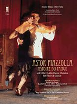Katarzyna Bury - Piazzolla - Histoire Du Tango and Other Latin Classics for Flute & Guitar Duet - Music Minus One - Book/CD set