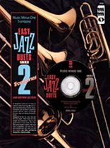 Easy Jazz Duets for Two Trombones and Rhythm Section - Music Minus One - Book/CD set