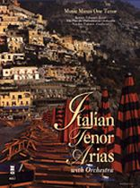Italian Tenor Arias With Orchestra - Music Minus One - Book/CD set