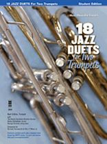 Burt Collins - Trumpet Duets In Jazz - Music Minus One - Book/CD set