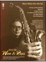 The Bob Wilber All-Stars - Days of Wine & Roses - Music Minus One (Alto Sax) - Play Along Book/CD Pack - Book/CD set